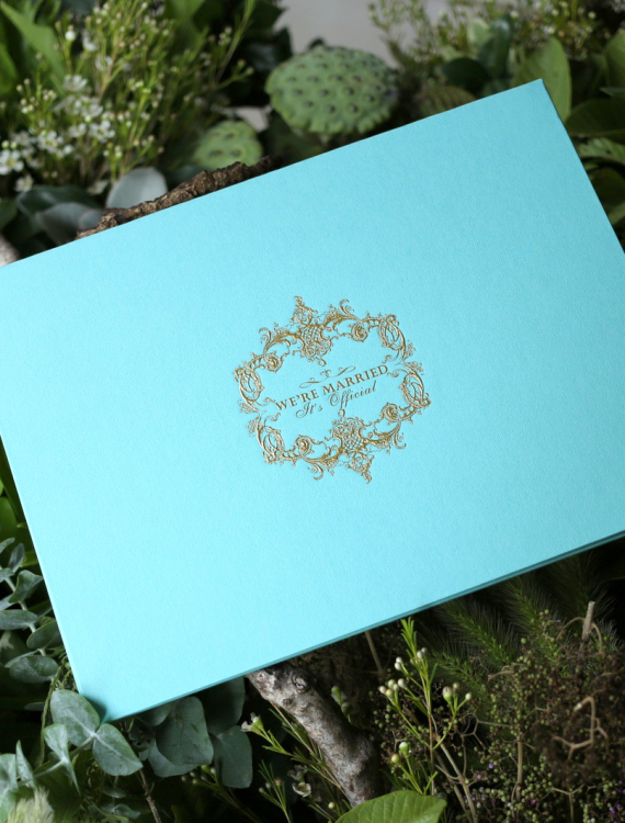 結婚書約-Tiffany Blue-奶油喜帖