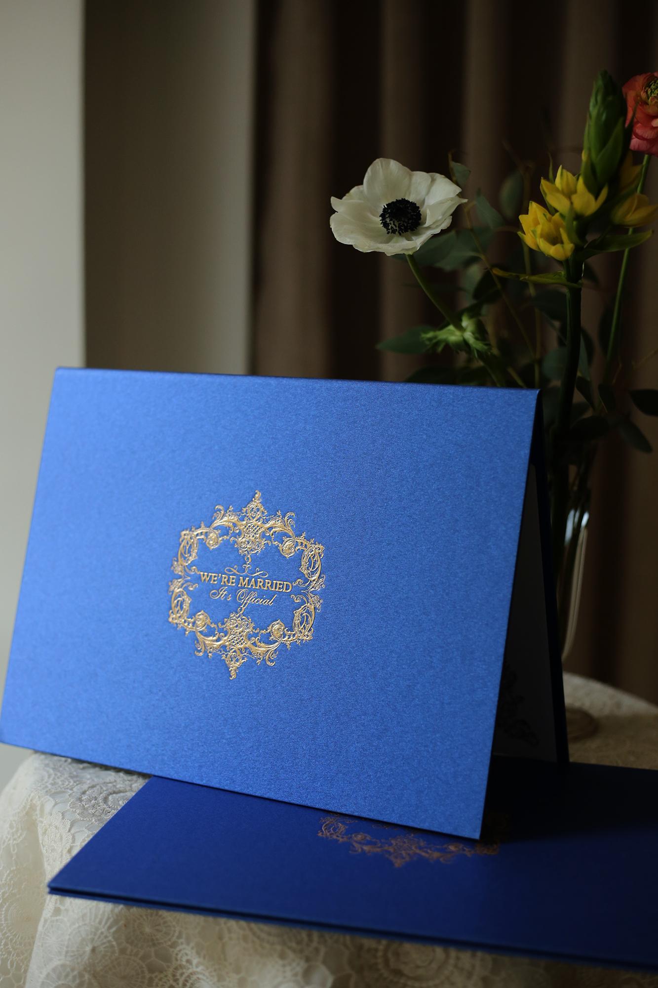 結婚書約_皇家藍斜面照